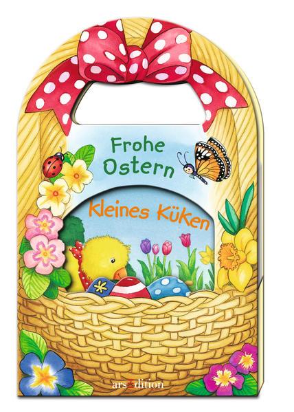 Frohe Ostern, kleines Küken (im Osterkorb) - Coverbild