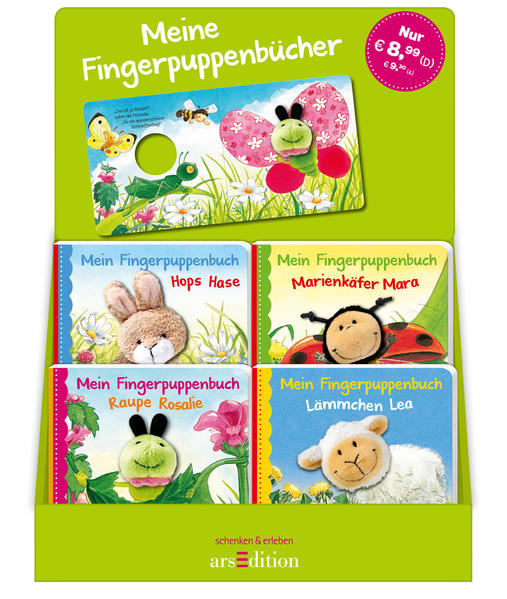 Display Fingerpuppenbücher - Coverbild