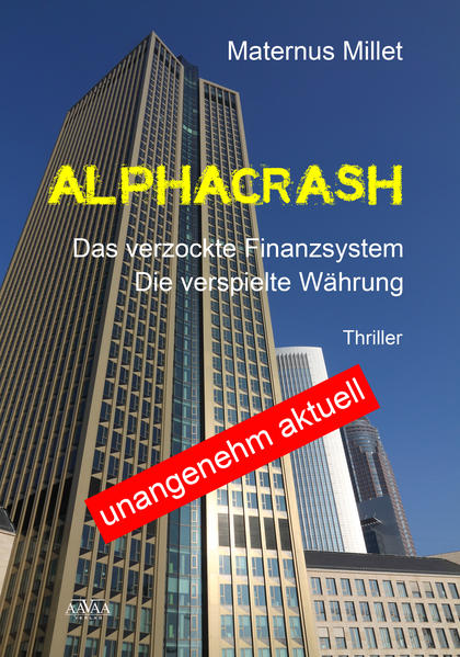 Alphacrash - Großdruck - Coverbild