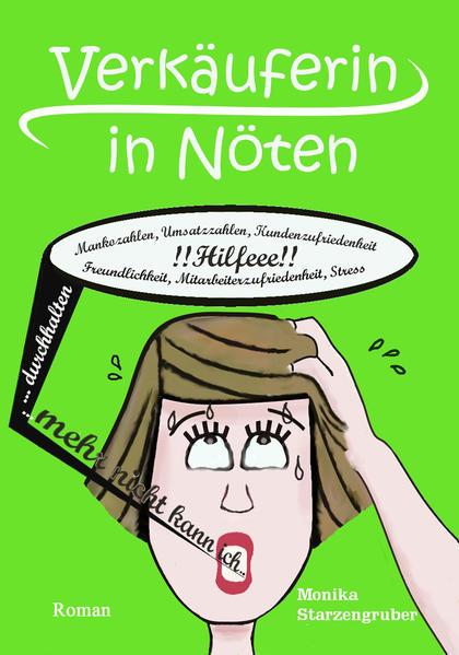 Verkäuferin in Nöten - Großdruck - Coverbild