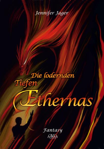 Die lodernden Tiefen Ethernas - Großdruck - Coverbild