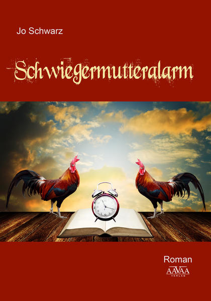 Schwiegermutteralarm - Großdruck - Coverbild