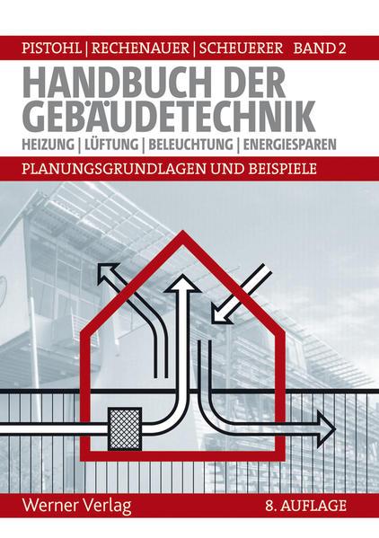Handbuch der Gebäudetechnik - Planungsgrundlagen und Beispiele - Coverbild