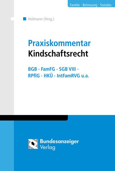 Praxiskommentar Kindschaftsrecht - Coverbild