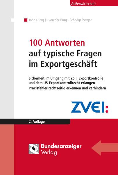 100 Antworten auf typische Fragen im Exportgeschäft - Coverbild