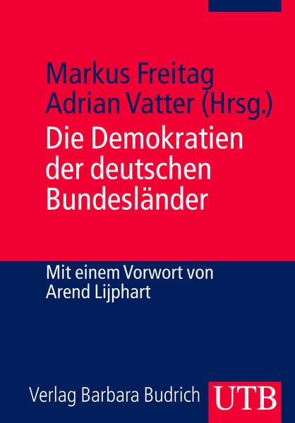 Die Demokratien der deutschen Bundesländer - Coverbild