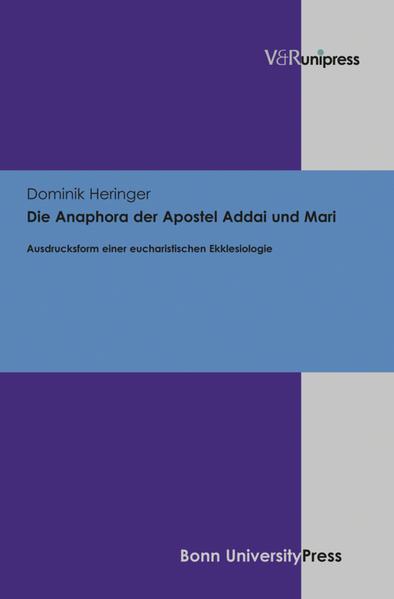 Die Anaphora der Apostel Addai und Mari - Coverbild