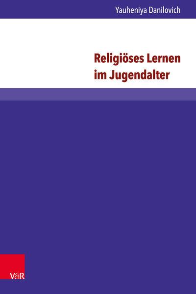 Religiöses Lernen im Jugendalter - Coverbild
