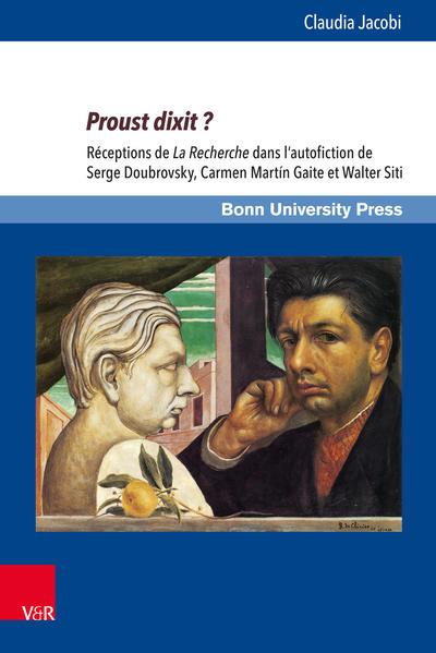 Proust dixit ? - Coverbild