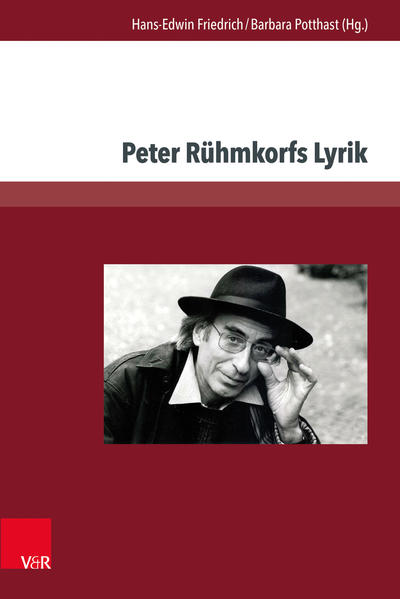 Peter Rühmkorfs Lyrik - Coverbild