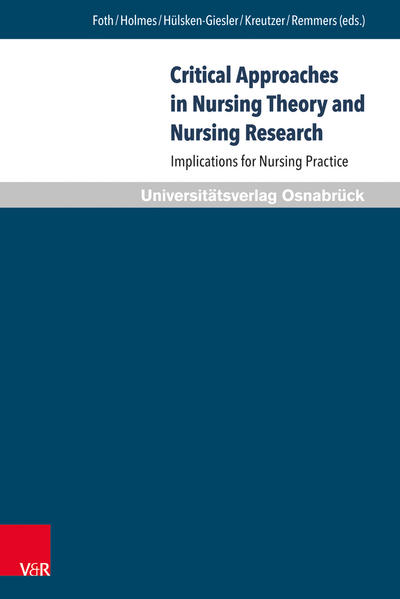Critical Approaches in Nursing Theory and Nursing Research - Coverbild
