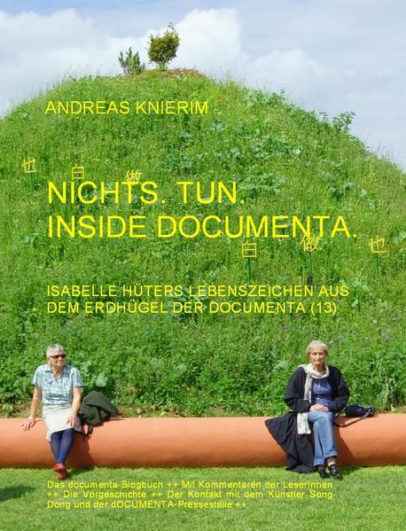 Nichts. Tun. Inside documenta. - Coverbild