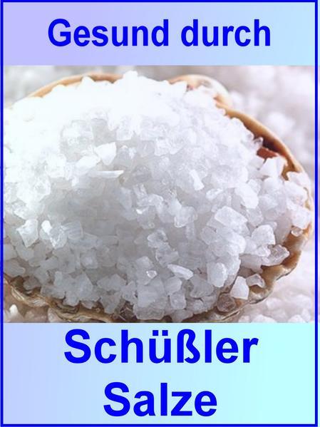 Gesund durch Schüßler Salze - Coverbild