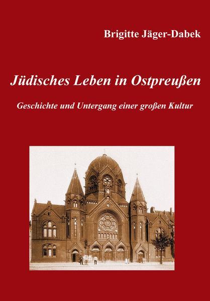 Jüdisches Leben in Ostpreußen. - Coverbild
