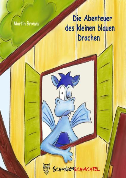 Die Abenteuer des kleinen blauen Drachen - Coverbild