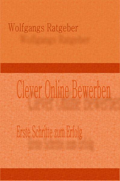 Clever Online Bewerben - Coverbild