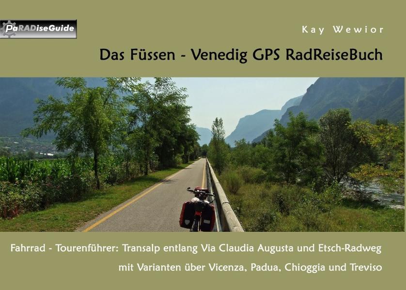 Das Füssen - Venedig GPS RadReiseBuch - Coverbild