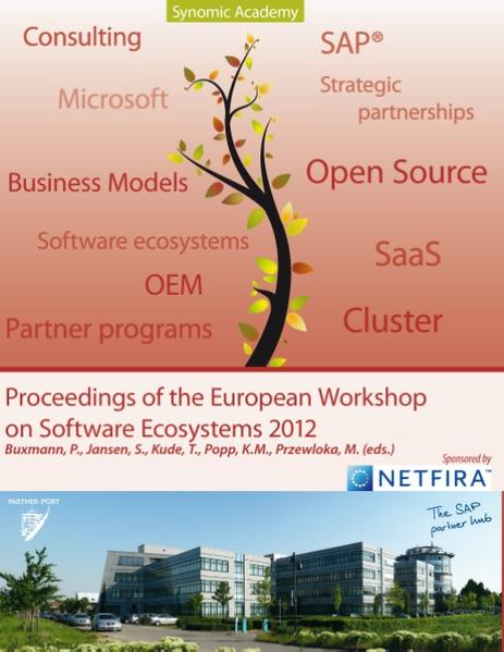 Proceedings of European Workshop on Software Ecosystems - Coverbild
