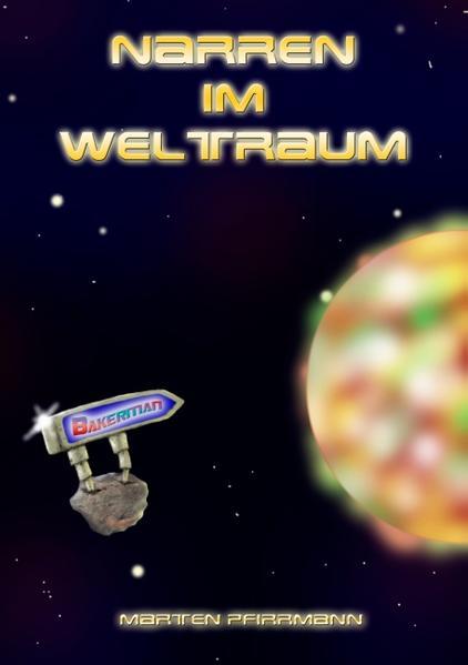 Narren im Weltraum - Coverbild