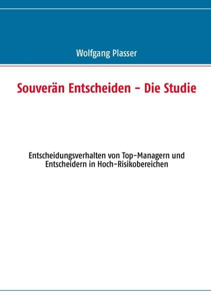 Souverän entscheiden - Die Studie - Coverbild