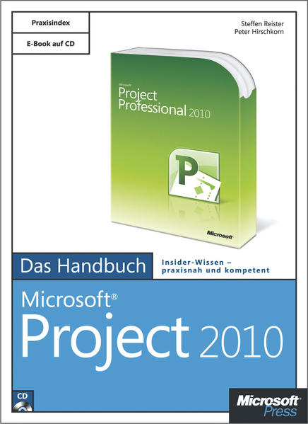 Microsoft Project 2010 - Das Handbuch - Coverbild