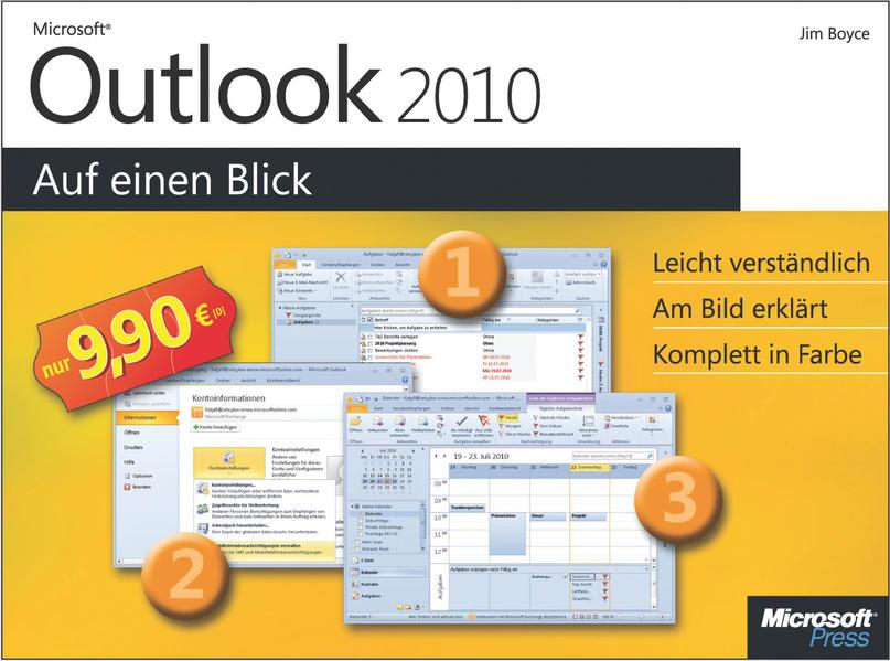 Microsoft Outlook 2010 auf einen Blick - Coverbild
