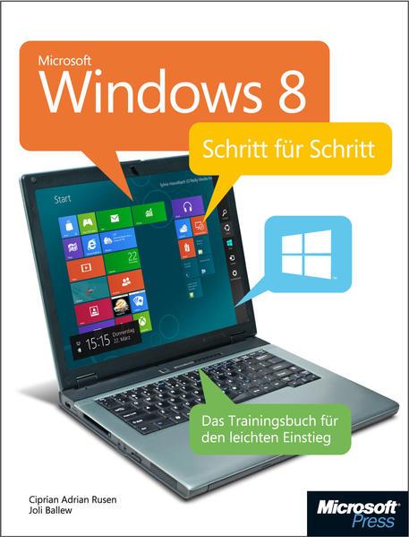 Microsoft Windows 8 - Schritt für Schritt - Coverbild