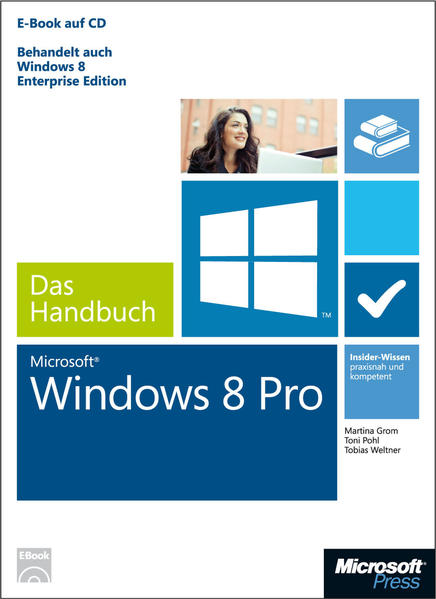 Microsoft Windows 8 Pro - Das Handbuch - Coverbild