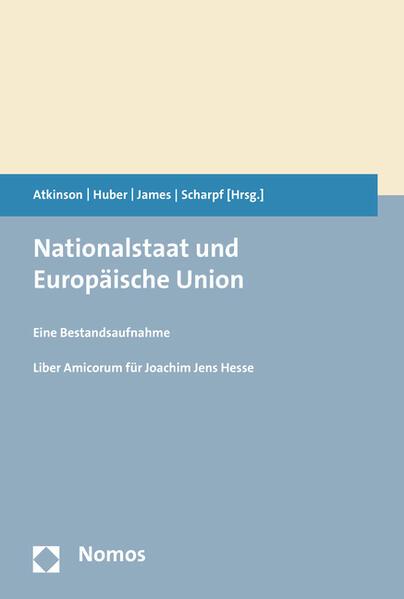 Nationalstaat und Europäische Union - Coverbild