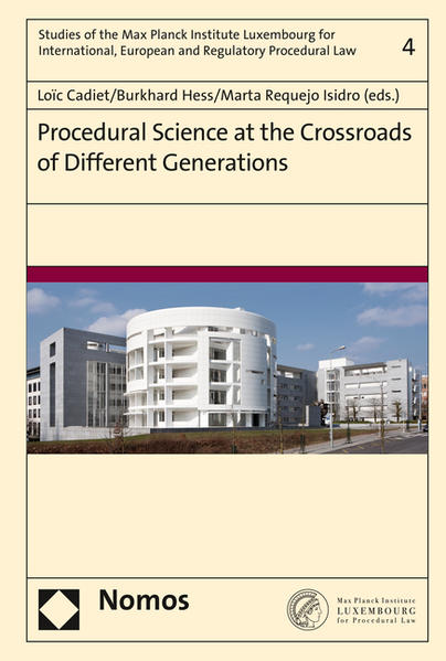 Procedural Science at the Crossroads of Different Generations - Coverbild