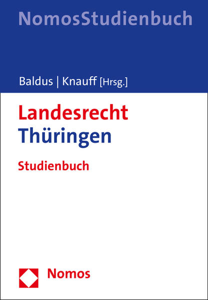 Landesrecht Thüringen - Coverbild