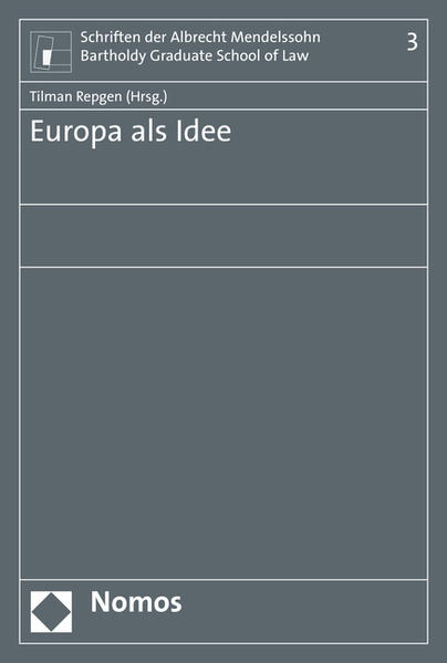 Europa als Idee - Coverbild