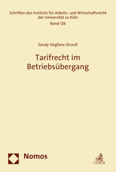 Tarifrecht im Betriebsübergang - Coverbild