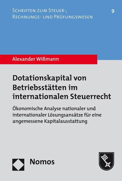 Dotationskapital von Betriebsstätten im internationalen Steuerrecht - Coverbild