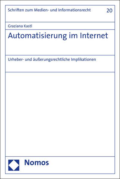 Automatisierung im Internet - Coverbild