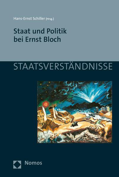 Staat und Politik bei Ernst Bloch - Coverbild