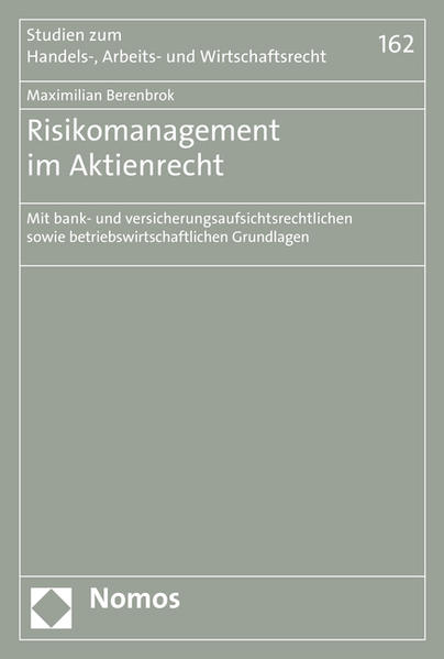 Risikomanagement im Aktienrecht - Coverbild