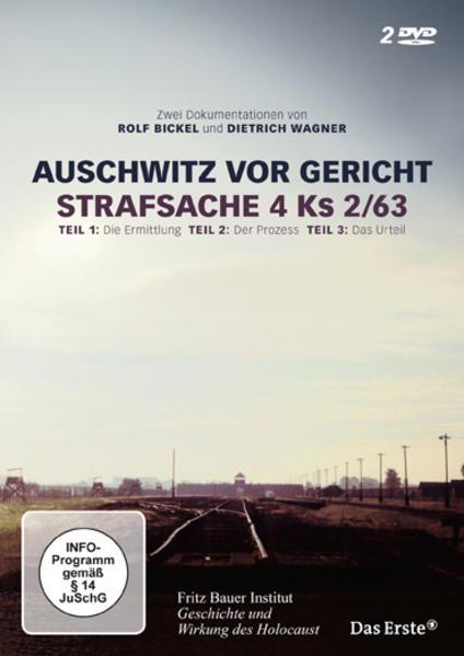 Auschwitz vor Gericht - Coverbild