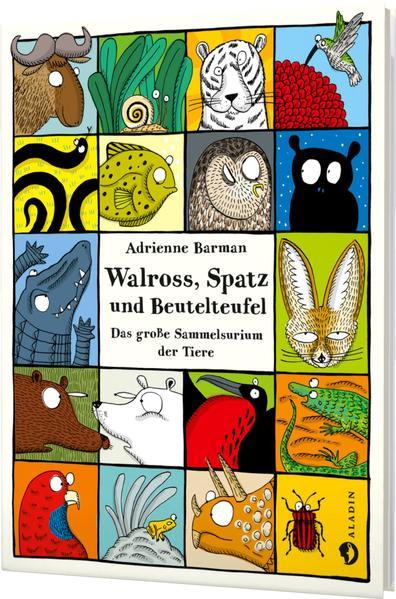 Walross, Spatz und Beutelteufel - Coverbild