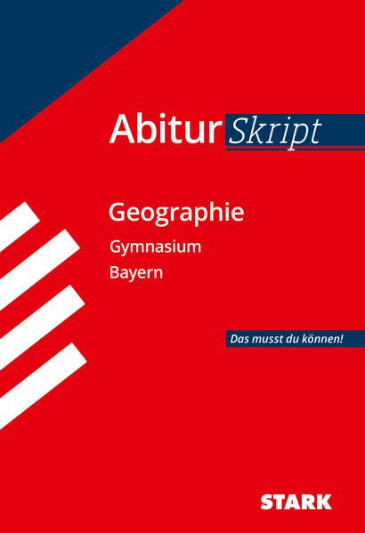 Abiturskript Bayern Erdkunde - Coverbild