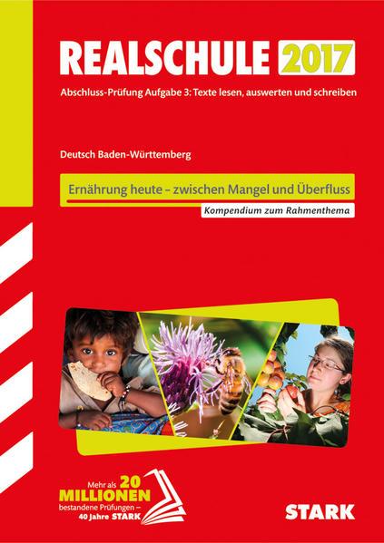 Textkompendium Realschule - Deutsch Baden-Württemberg 2016/17