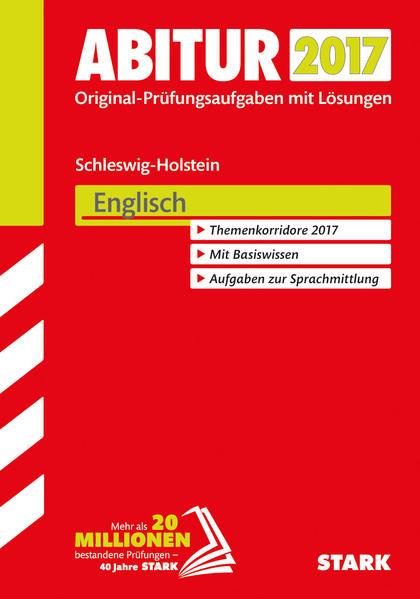 Herunterladen Abiturprüfung Schleswig-Holstein - Englisch EPUB