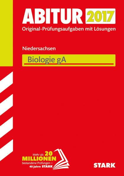 Abiturprüfung Niedersachsen - Biologie GA - Coverbild