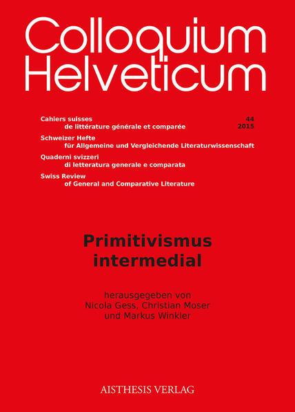 Primitivismus intermedial - Coverbild