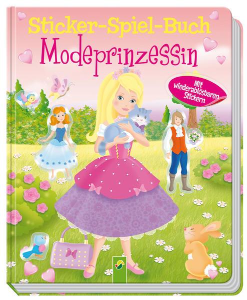 Sticker - Spiel - Buch Modeprinzessin  - Coverbild