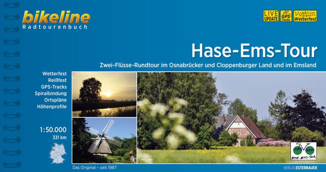 Hase-Ems-Radweg - Coverbild