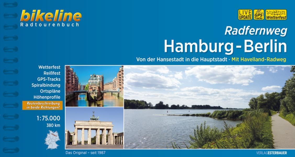Radfernweg Hamburg-Berlin - Coverbild