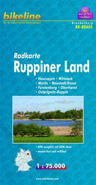 Radkarte Ruppiner Land (RK-BRA05) - Coverbild