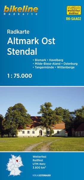 Radkarte Altmark Ost Stendal (RK-SAA02) - Coverbild