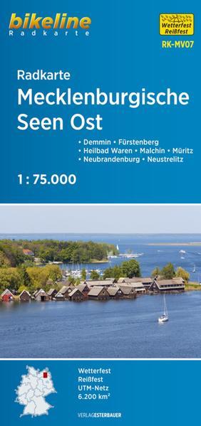 Radkarte Mecklenburgische Seen Ost (RK-MV07) - Coverbild